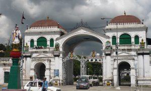 Singha Durbar Gate in Kathmandu