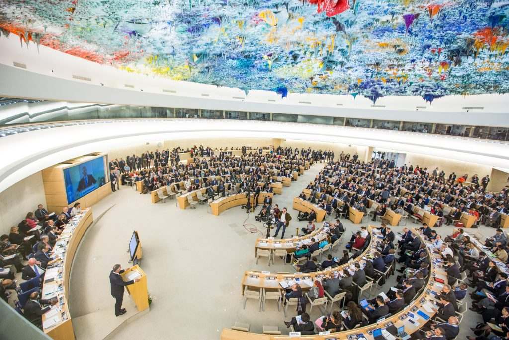 United Nations Human Rights Council - 34th Session, UN Photo / Elma Okic